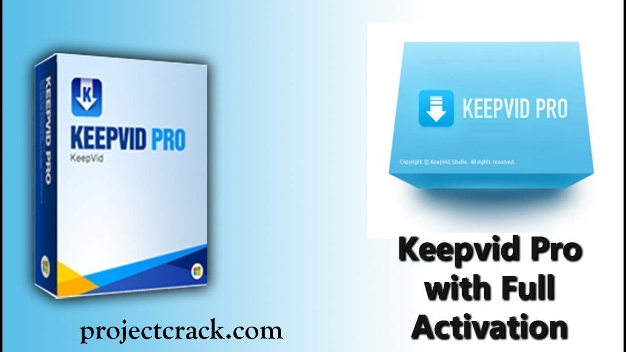 KeepVid Pro 7.3.0.2 Crack Plus Serial Key Free Download